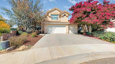 Fillmore Single Family Home For Sale: 456 Quail Court