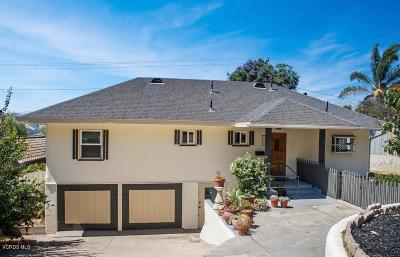 Single Family Home For Sale: 1142 Ventura Avenue