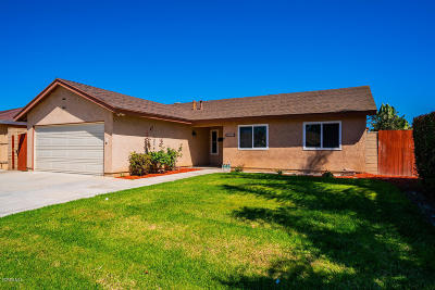 Oxnard Single Family Home For Sale: 4900 Webster Drive