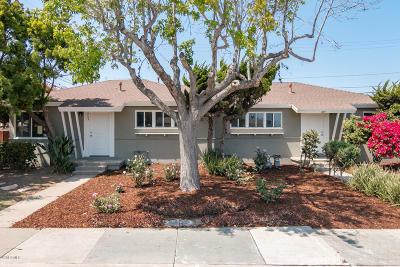 Oxnard Single Family Home For Sale: 203 E Iris Street