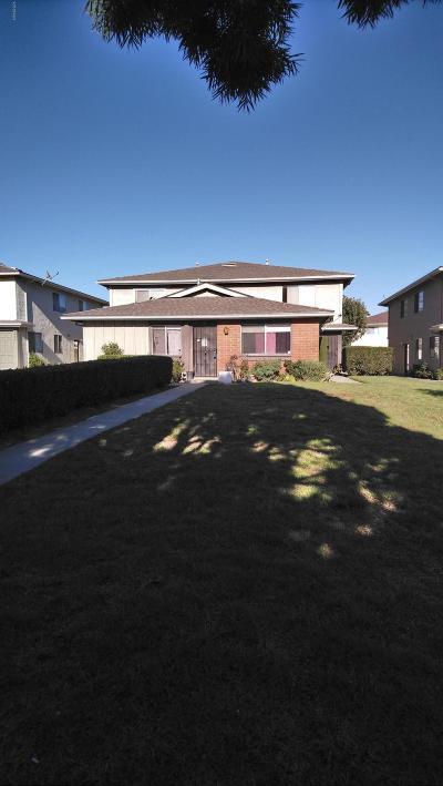 Ventura Condo/Townhouse For Sale: 1132 Acadia Place