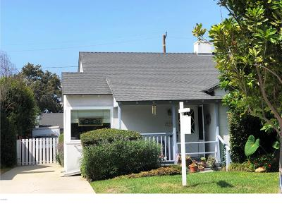 Ventura Single Family Home Active Under Contract: 125 Katherine Drive