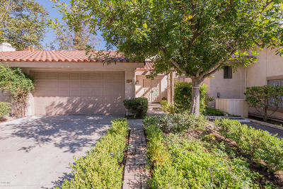 Westlake Village Condo/Townhouse For Sale: 724 Valley Drive