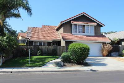 Camarillo Single Family Home For Sale: 5969 Palomar Circle