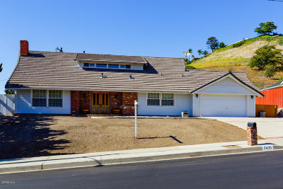 Thousand Oaks CA Single Family Home For Sale: $849,900
