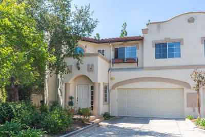 Newbury Park Condo/Townhouse For Sale: 1168 Pan Court