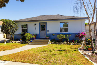 Ventura Single Family Home For Sale: 562 Howard Street