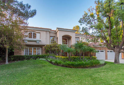 Westlake Village Single Family Home For Sale: 31857 Saddletree Drive
