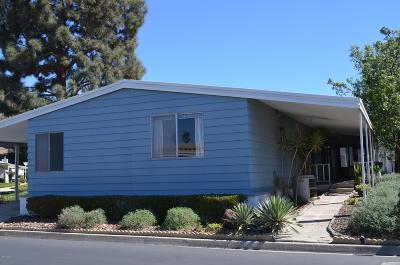 Camarillo Mobile Home Active Under Contract: 181 Rancho Adolfo Drive #84