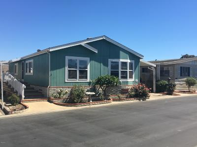 Oxnard Mobile Home For Sale: 106 Fontana Drive #265