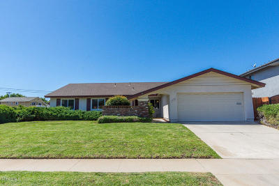 Camarillo Single Family Home For Sale: 1505 Shepherd Drive