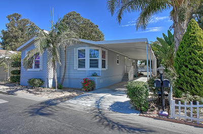 Camarillo Mobile Home Active Under Contract: 14 Via Rosal