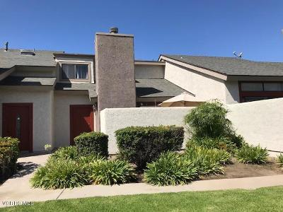Oxnard Condo/Townhouse For Sale: 5107 Perkins Road