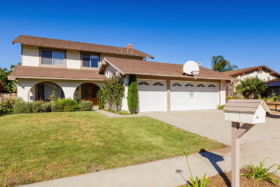 Ventura Single Family Home For Sale: 2463 Waxwing Avenue