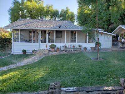 Fillmore Single Family Home For Sale: 65 4th Street