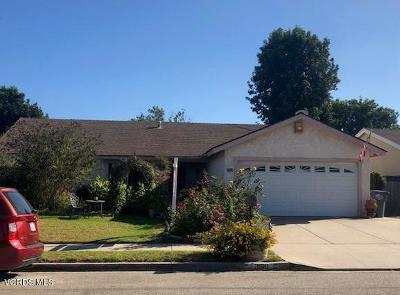 Oxnard Single Family Home For Sale: 3100 Taffrail Lane