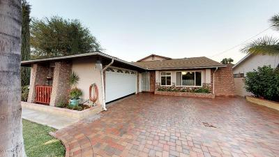Fillmore Single Family Home For Sale: 746 A Street