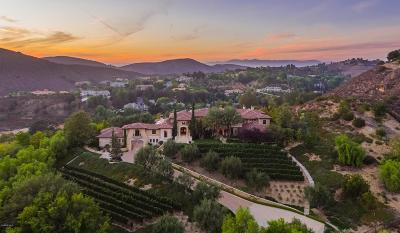 Westlake Village CA Single Family Home For Sale: $12,995,000