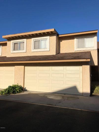 Oxnard Condo/Townhouse For Sale: 5275 Barrymore Drive