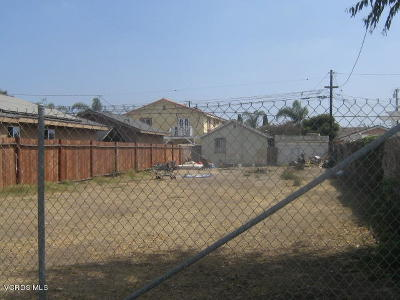 Ventura County Residential Lots & Land For Sale: 154 S Hayes Avenue