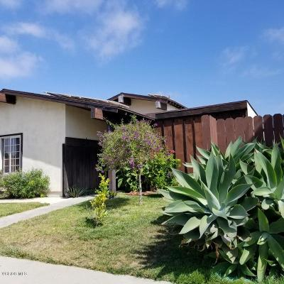 Ventura County Single Family Home For Sale: 1834 Adelaide Court