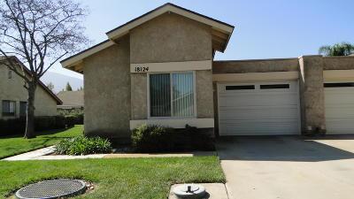 Ventura County Condo/Townhouse For Sale: 18124 Village 18