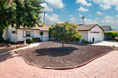 Ventura Single Family Home For Sale: 804 Montgomery Avenue