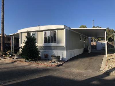 Santa Paula Mobile Home Active Under Contract: 265 S Beckwith Road #106a