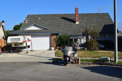 Ventura Single Family Home Active Under Contract: 8550 Idyllwild Street