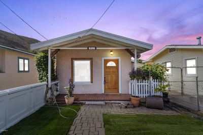 Ventura Single Family Home For Sale: 92 E Simpson Street