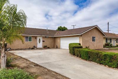 Oxnard Single Family Home For Sale: 360 E Yucca Street