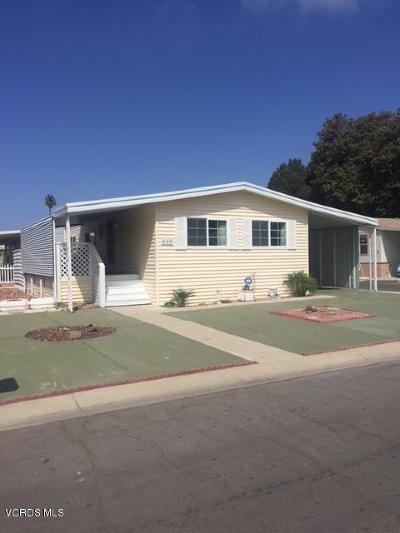 Oxnard Mobile Home Active Under Contract: 445 Columbia Place #67