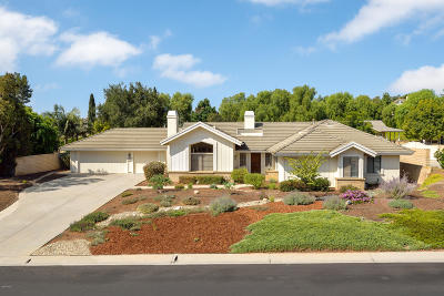 Camarillo Single Family Home Active Under Contract: 2001 San Onofre Drive