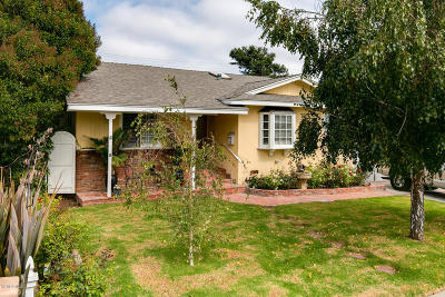 Ventura Single Family Home Active Under Contract: 116 S Dunning Street