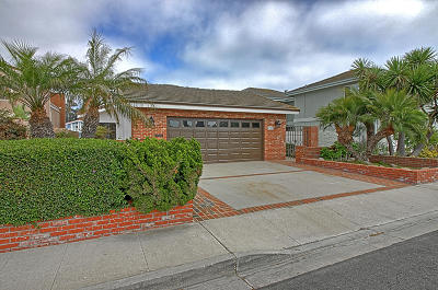 Ventura Single Family Home For Sale: 2882 Sailor Avenue
