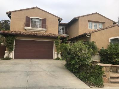 Camarillo Single Family Home Active Under Contract: 2912 Patina Court