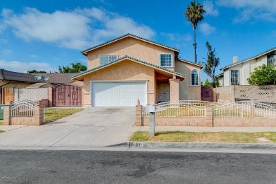 Oxnard Single Family Home Active Under Contract: 1611 Nelson Place