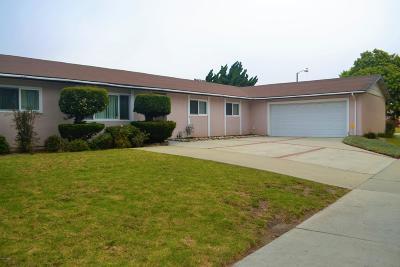 Oxnard Single Family Home Active Under Contract: 1325 Berkshire Street