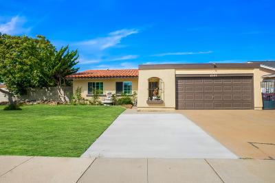 Oxnard Single Family Home For Sale: 2531 Miramar Place