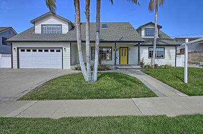 Ventura Single Family Home Active Under Contract: 4425 Pomona Street