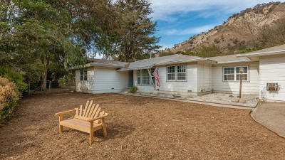 ventura Single Family Home For Sale: 8620 Nye Road