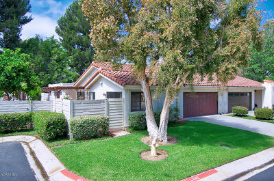 Camarillo Single Family Home Active Under Contract: 2243 Placita San Rufino #56