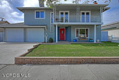 ventura Single Family Home Active Under Contract: 1727 Swift Avenue