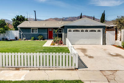 Ventura Single Family Home For Sale: 5231 Norway Drive