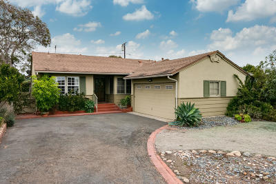 Ventura Single Family Home Active Under Contract: 362 S Joanne Avenue