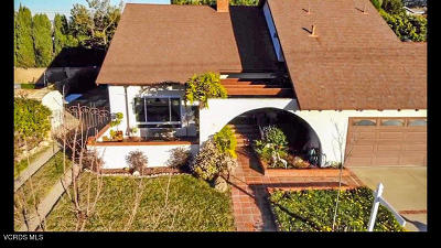 Newbury Park Single Family Home For Sale: 64 E Kelly Road