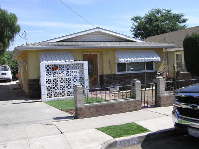 Santa Paula Multi Family Home Active Under Contract: 335 12th Street