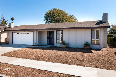 Oxnard Single Family Home For Sale: 1730 Jeannette Drive