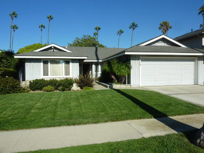Ventura Single Family Home Active Under Contract: 2774 Surfrider Avenue