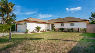 Oxnard Single Family Home For Sale: 2120 Beaufort Drive